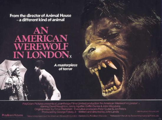 An American Werewolf in London, John Landis, horror classic