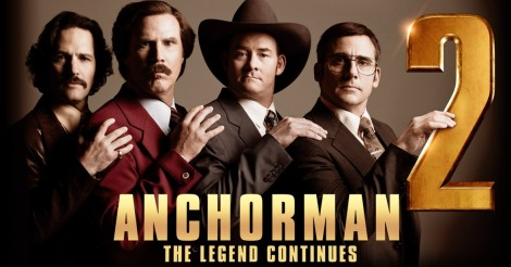 Anchorman 2, Ron Burgundy
