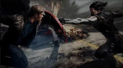 Winter Soldier, Captain America