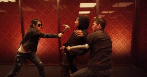 Rama fights 'Hammer Girl' and 'Baseball Bat Man.'