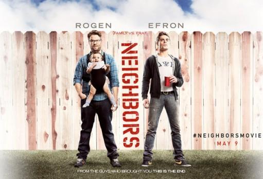Neighbors, Zac Efron, Seth Rogen