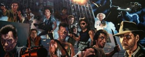80s Action Hero