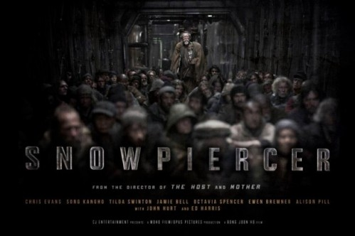 Snowpiercer Poster, Review, Chris Evans